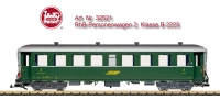 LGB Art. No. 32521 - RhB Passenger Car, 2nd Class, Car Number B 2225