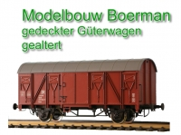Modelbou Boerman - covered freight car (Sample)