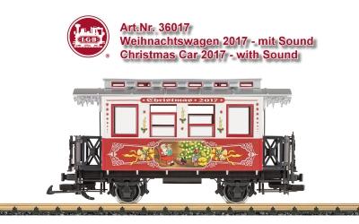 Weihnachtswagen 2017 - mit Sound - Christmas Car 2017 - with Sound