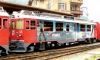 Berninatriebwagen ABe 4/4 III der RhB 55 - Diavolezza - Werbevariante RePower Winter